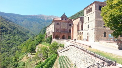 Llegada al Monasterio de Valvanera