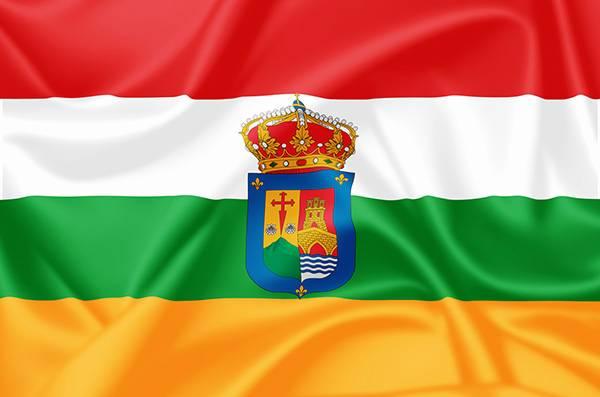 Bandera de La Rioja - España