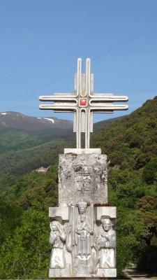 La Cruz Blanca, camino a Valvanera