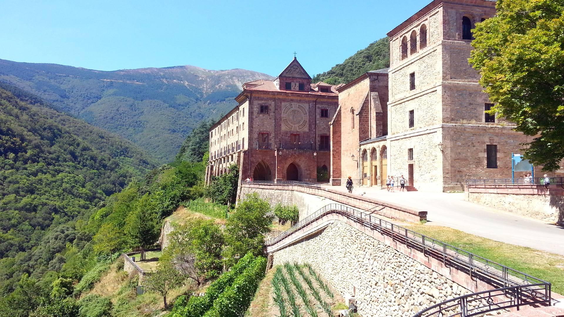 Monasterio de Valvanera, La Rioja, España