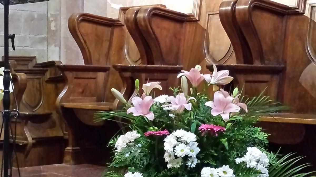 2014 06 26 Sillería del presbiterio de la iglesia del Monasterio